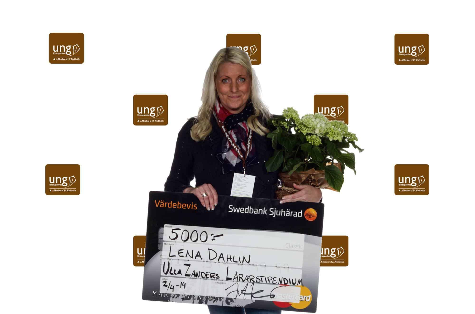 lenadahlin årets UF-lärare 2018