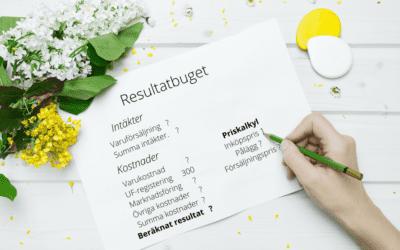 Hur gör man en resultatbudget?