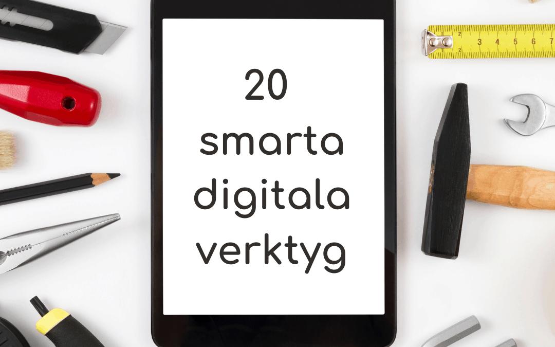 20 smarta digitala verktyg